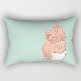 Creamy Coffee Rectangular Pillow