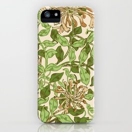 """William Morris """"Honeysuckle"""" 2. iPhone Case"""