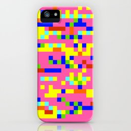 Pink Candy Camouflage iPhone Case