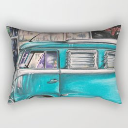 Hippie Van Rectangular Pillow