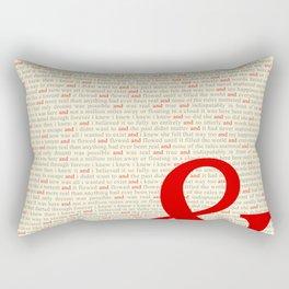 And... Rectangular Pillow