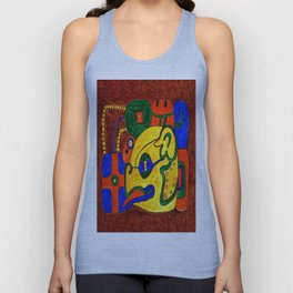 GLYPH OF THE CITY-STATE OF TONIÑA Unisex Tank Top