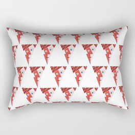 Cubist Aladdin Sane Rectangular Pillow