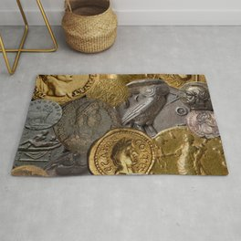 Ancient Coins 1 Rug