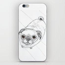 Slug Pug iPhone Skin