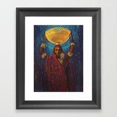 Divine Duty Framed Art Print