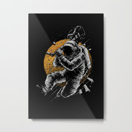 Astronaut E-Guitar Metal Print