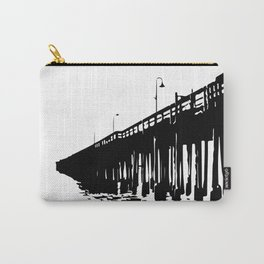 Ventura, California Pier Graphic Carry-All Pouch