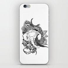 Inking Elephant iPhone & iPod Skin