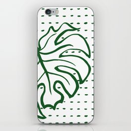 Monstera Leaf iPhone Skin