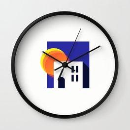 Summer House Wall Clock