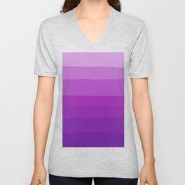 Ultra Violet Gradient Unisex V-Neck