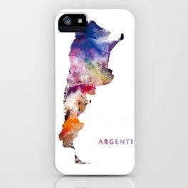 Argentina iPhone Case