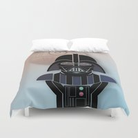 starwars Duvet Covers featuring StarWars Darth Vader by Joshua A. Biron