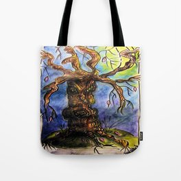 Gnarly Tree Tote Bag