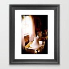 Wash Basin Framed Art Print