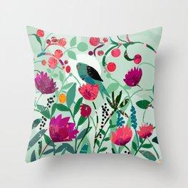April Sixteenth Throw Pillow