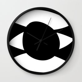 eyes on me Wall Clock