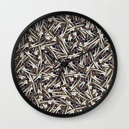 Travi$ Scott Jordan 1 Low - Pink Laces Wall Clock