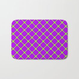 Square Pattern 2 Bath Mat