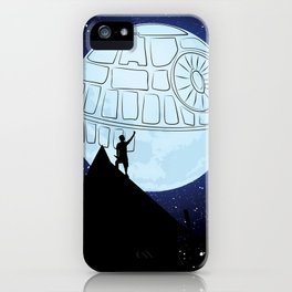That's no moon! iPhone Case