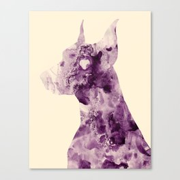 Doberman Sightings Canvas Print