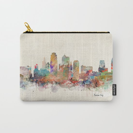 kansas city missouri Carry-All Pouch
