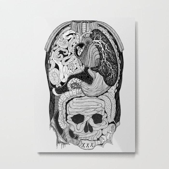 Gross Anatomy Metal Print