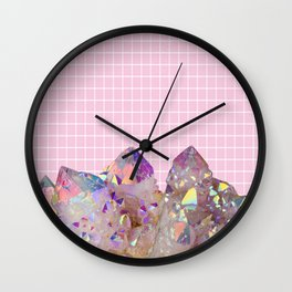 Aura Grid Wall Clock