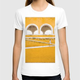Colonial Mexico, Izamal in Yellow #buyart #society6 #decor T-shirt