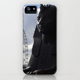 The eye and sphinx iPhone Case