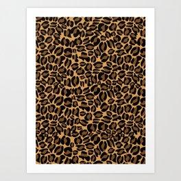 Leopard Print | Cheetah texture pattern Art Print