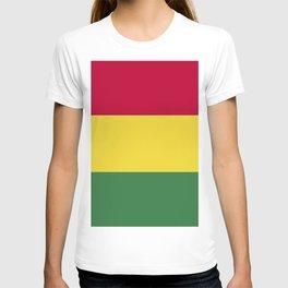 Bolivia flag emblem T-shirt