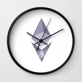 ETH GEM Wall Clock