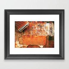Ancient Color Framed Art Print