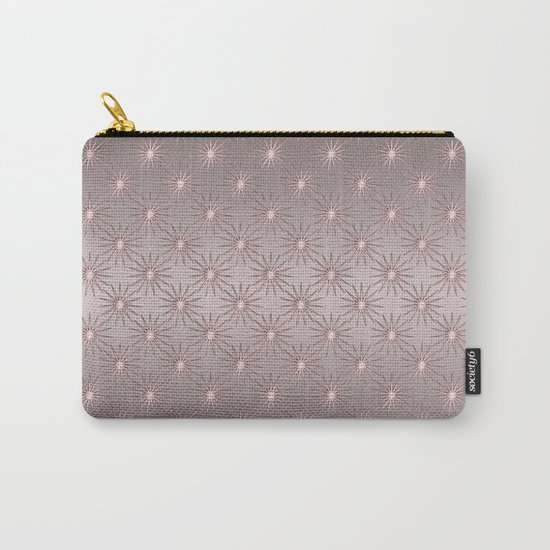 elegant Star shine soft pink Carry-All Pouch