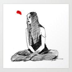 SHE Art Print