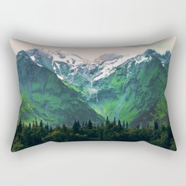 Escaping from woodland heights IV Rectangular Pillow