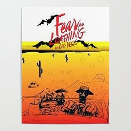 Fear and Loathing in Las Vegas- Desert Poster