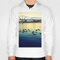 river Hoodies featuring River by kingseyb