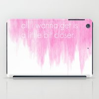 tegan and sara iPad Cases featuring Ombre - Pink - Closer by Tegan & Sara by Paxton Keating