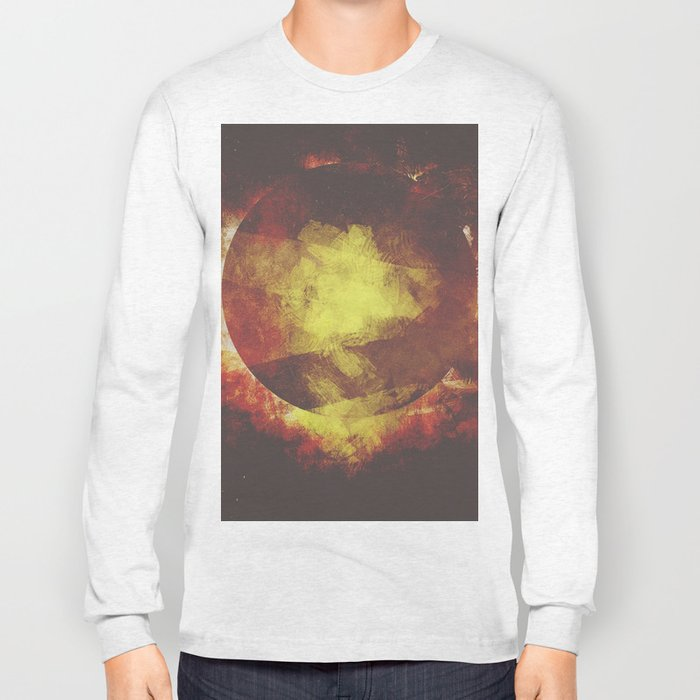 The baby moon Long Sleeve T-shirt