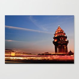 the monument revisited Canvas Print