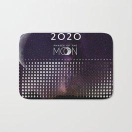 Moon calendar 2020 #4 Bath Mat