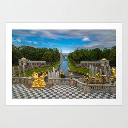 Peterhof Art Print