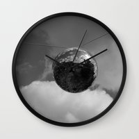 disco Wall Clocks featuring Disco by Slein Dorn