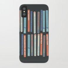 Music Snob iPhone X Slim Case