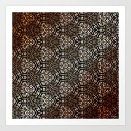 Metal Rust Pat5525 Art Print