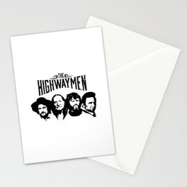 The Highwaymen Music Stationery Cards
