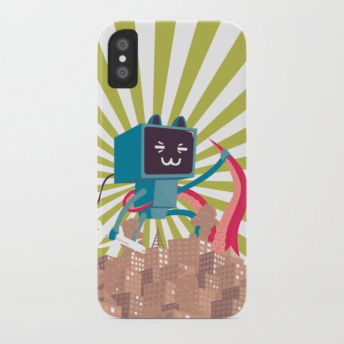 Go Go Mecha Kitty iPhone Case
